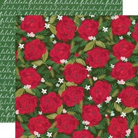 Simple Stories - Holly Days Collection - Christmas - 12 x 12 Double Sided Paper - 'Tis The Season