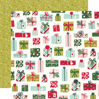 Simple Stories - Holly Days Collection - Christmas - 12 x 12 Double Sided Paper - No Peeking!