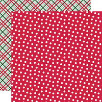 Simple Stories - Holly Days Collection - Christmas - 12 x 12 Double Sided Paper - The Merriest
