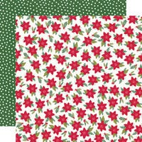 Simple Stories - Holly Days Collection - Christmas - 12 x 12 Double Sided Paper - Mistletoe Memories