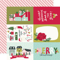 Simple Stories - Holly Days Collection - Christmas - 12 x 12 Double Sided Paper - 4 x 6 Elements