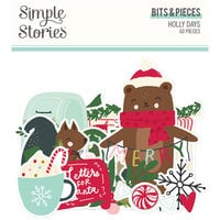 Simple Stories - Holly Days Collection - Christmas - Bits and Pieces