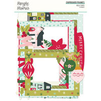 Simple Stories - Holly Days Collection - Christmas - Chipboard Frames