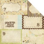 Simple Stories - Baby Steps Collection - 12 x 12 Double Sided Paper - Journaling Card Elements 2