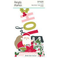 Simple Stories - Simple Pages Collection - Christmas - Page Pieces - Holly Jolly