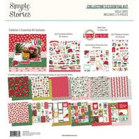 Simple Stories - Holly Days Collection - 12 x 12 Collector's Essential Kit
