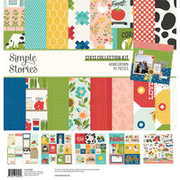 Simple Stories - Homegrown Collection - 12 x 12 Collection Kit