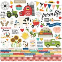 Simple Stories - Homegrown Collection - 12 x 12 Cardstock Stickers