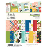 Simple Stories - Homegrown Collection - 6 x 8 Paper Pad