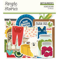 Simple Stories - Homegrown Collection - Bits and Pieces