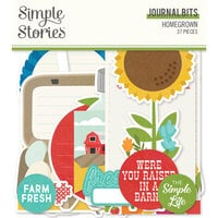 Simple Stories - Homegrown Collection - Journal Bits
