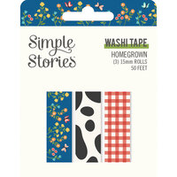 Simple Stories - Homegrown Collection - Washi Tape