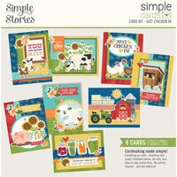 Simple Stories - Simple Cards Card Kit - Just Chicken In