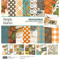 Simple Stories - Simple Vintage Country Harvest Collection - 12 x 12 Collection Kit