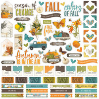 Simple Stories - Simple Vintage Country Harvest Collection - 12 x 12 Cardstock Stickers
