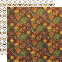 Simple Stories - Simple Vintage Country Harvest Collection - 12 x 12 Double Sided Cardstock - Changing Seasons