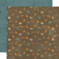 Simple Stories - Simple Vintage Country Harvest Collection - 12 x 12 Double Sided Cardstock - Give Thanks