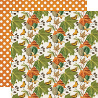 Simple Stories - Simple Vintage Country Harvest Collection - 12 x 12 Double Sided Cardstock - Favorite Season
