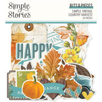Simple Stories - Simple Vintage Country Harvest Collection - Bits and Pieces