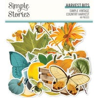 Simple Stories - Simple Vintage Country Harvest Collection - Harvest Bits