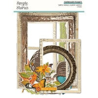 Simple Stories - Simple Vintage Country Harvest Collection - Chipboard Frames