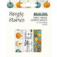 Simple Stories - Simple Vintage Country Harvest Collection - Washi Tape