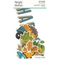 Simple Stories - Simple Pages Collection - Page Pieces - Harvest