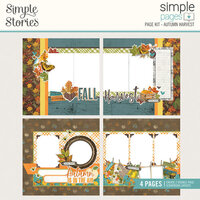 Simple Stories - Simple Pages Collection - Page Kit - Autumn Harvest