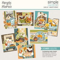 Simple Stories - Simple Cards Card Kit - Harvest Wishes