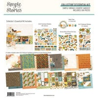 Simple Stories - Simple Vintage Country Harvest Collection - 12 x 12 Collector's Essential Kit