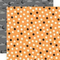 Simple Stories - Spooky Nights Collection - Halloween - 12 x 12 Double Sided Paper - Gone Batty