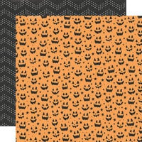 Simple Stories - Spooky Nights Collection - Halloween - 12 x 12 Double Sided Paper - Candy Inspector