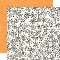 Simple Stories - Spooky Nights Collection - Halloween - 12 x 12 Double Sided Paper - Creep It Real