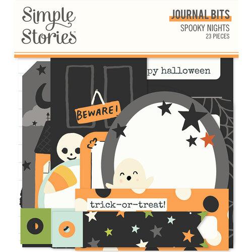 Spooky Nights Journal Bits