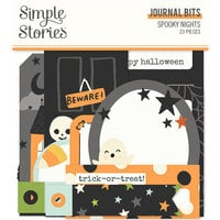 Simple Stories - Spooky Nights Collection - Halloween - Journal Bits