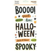Simple Stories - Spooky Nights Collection - Halloween - Foam Stickers