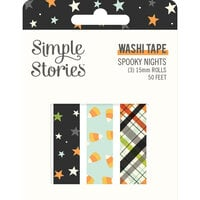 Simple Stories - Spooky Nights Collection - Halloween - Washi Tape
