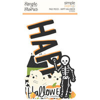 Simple Stories - Simple Pages - Page Pieces - Happy Halloween