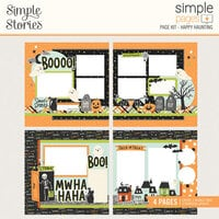 Simple Stories - Simple Pages - Halloween - Page Kit - Happy Haunting
