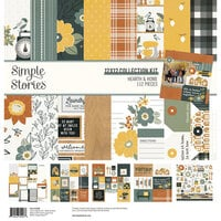Simple Stories - Hearth and Home Collection - 12 x 12 Collection Kit