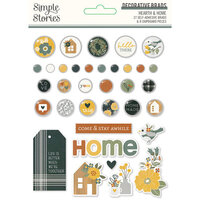 Simple Stories - Hearth and Home Collection - Decorative Brads
