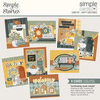 Simple Stories - Simple Cards - Card Kit - Happy Greetings