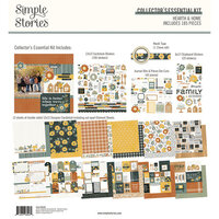 Simple Stories - Hearth and Home Collection - 12 x 12 Collector's Essential Kit