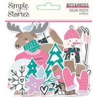 Simple Stories - Feelin' Frosty Collection - Bits and Pieces