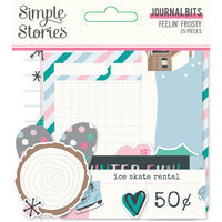 Simple Stories - Feelin' Frosty Collection - Journal Bits
