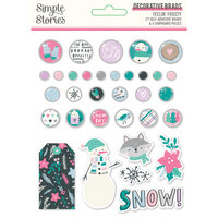 Simple Stories - Feelin' Frosty Collection - Decorative Brads