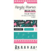 Simple Stories - Feelin' Frosty Collection - Washi Tape