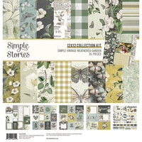 Simple Stories - Simple Vintage Weathered Garden Collection - 12 x 12 Collection Kit