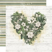 Simple Stories - Simple Vintage Weathered Garden Collection - 12 x 12 Double Sided Paper - Love You More
