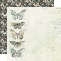 Simple Stories - Simple Vintage Weathered Garden Collection - 12 x 12 Double Sided Paper - Fills My Heart